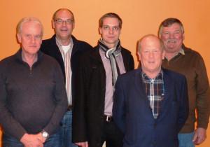 Silvio Wendt, Andreas Brüggen, Tim Möller, Joachim Hauschildt, Hans Rottgardt