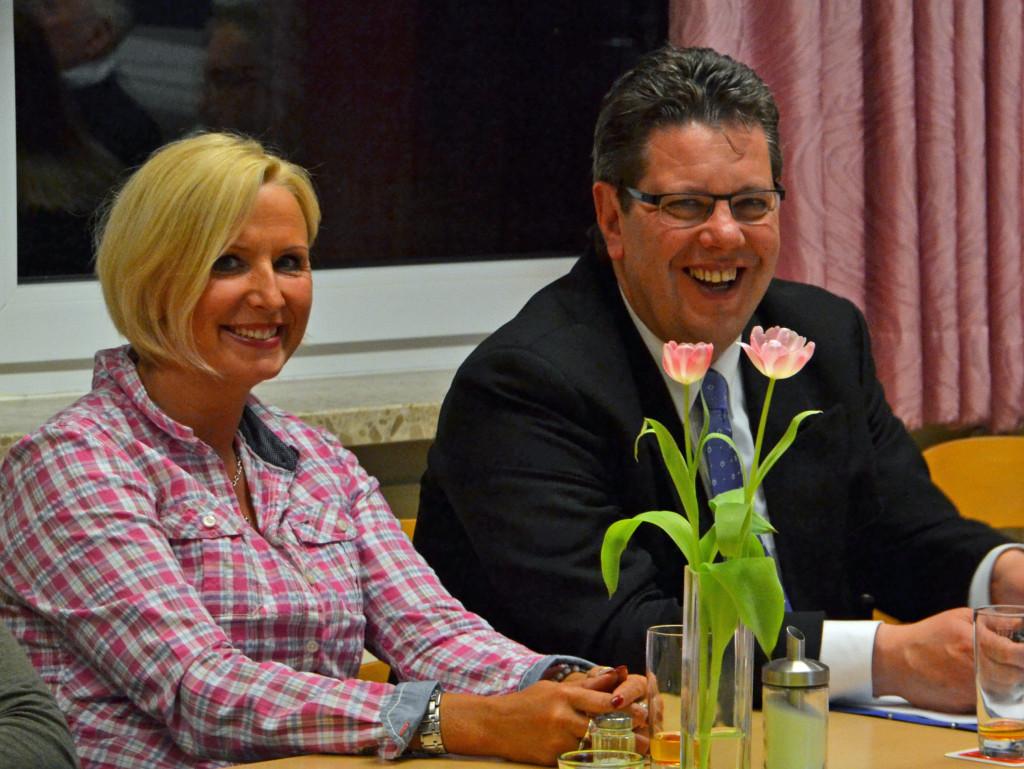 Im Bild Susanne Strehl und Claus Peter Dieck