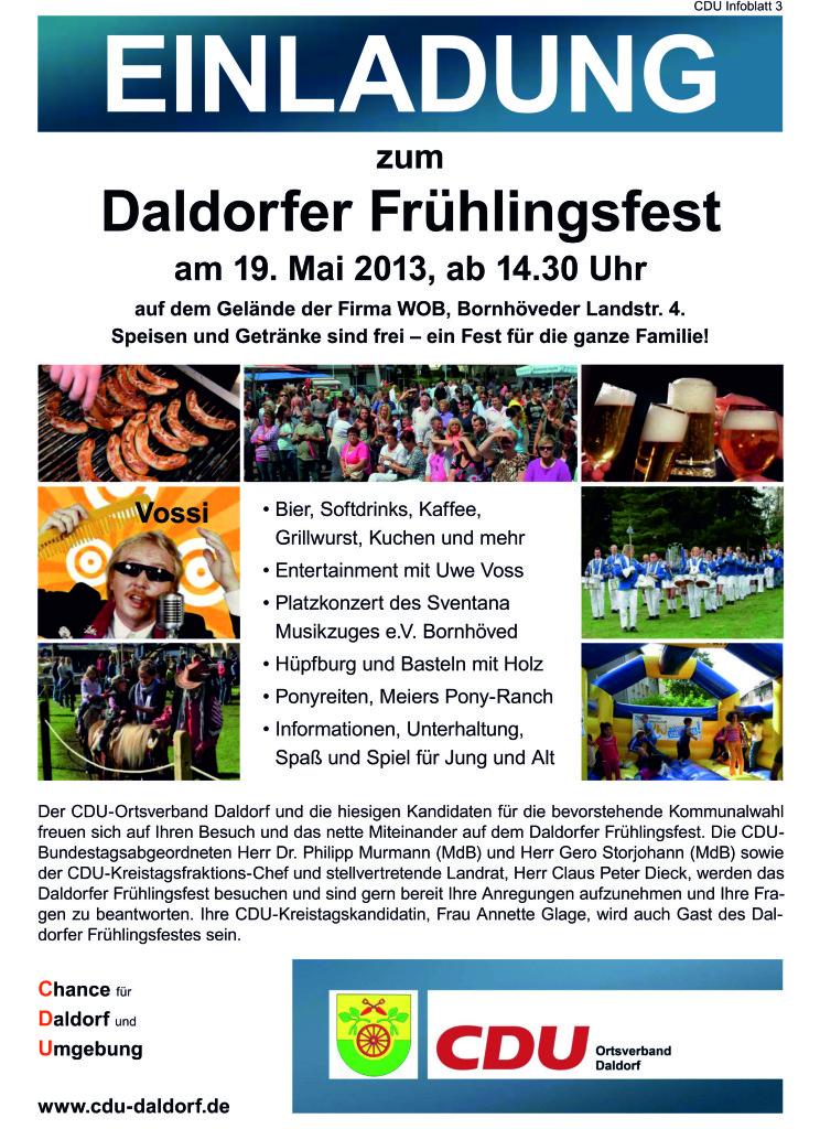 Daldorfer Frühlingsfest
